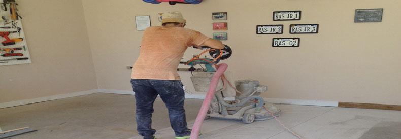 Garage Concrete Resurfacing